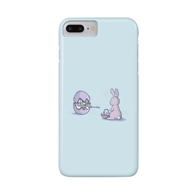 Easter Bunny in trouble Accessories Phone Case by YiannZ's Artist Shop