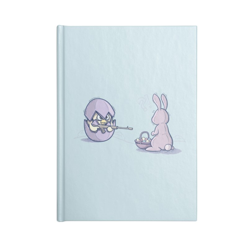 Easter Bunny in trouble Accessories Blank Journal Notebook by YiannZ's Artist Shop