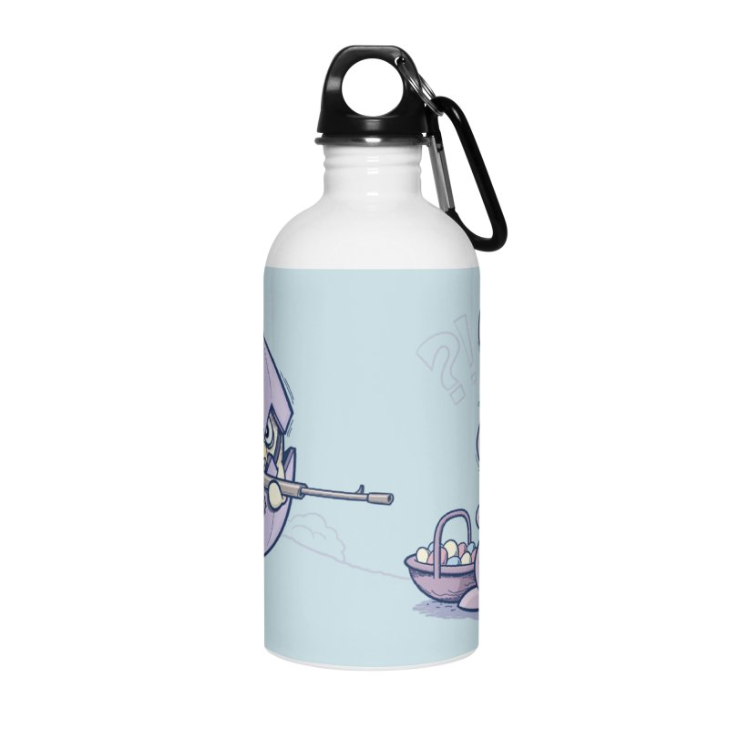 Easter Bunny in trouble Accessories Water Bottle by YiannZ's Artist Shop