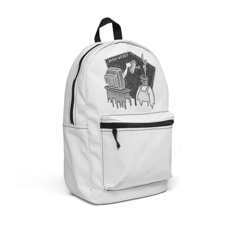 Brain-Washed Accessories Backpack Bag by YiannZ's Artist Shop