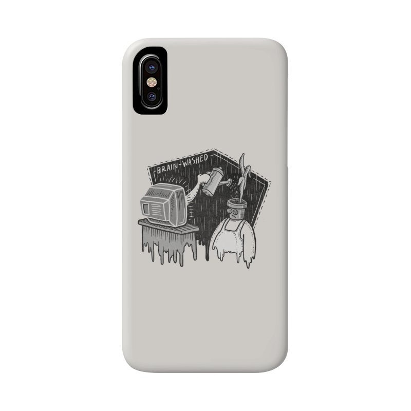 Brain-Washed Accessories Phone Case by YiannZ's Artist Shop