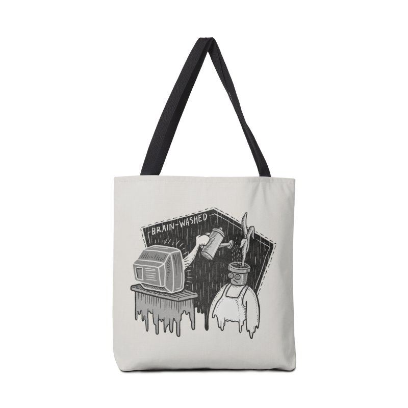 Brain-Washed Accessories Tote Bag Bag by YiannZ's Artist Shop