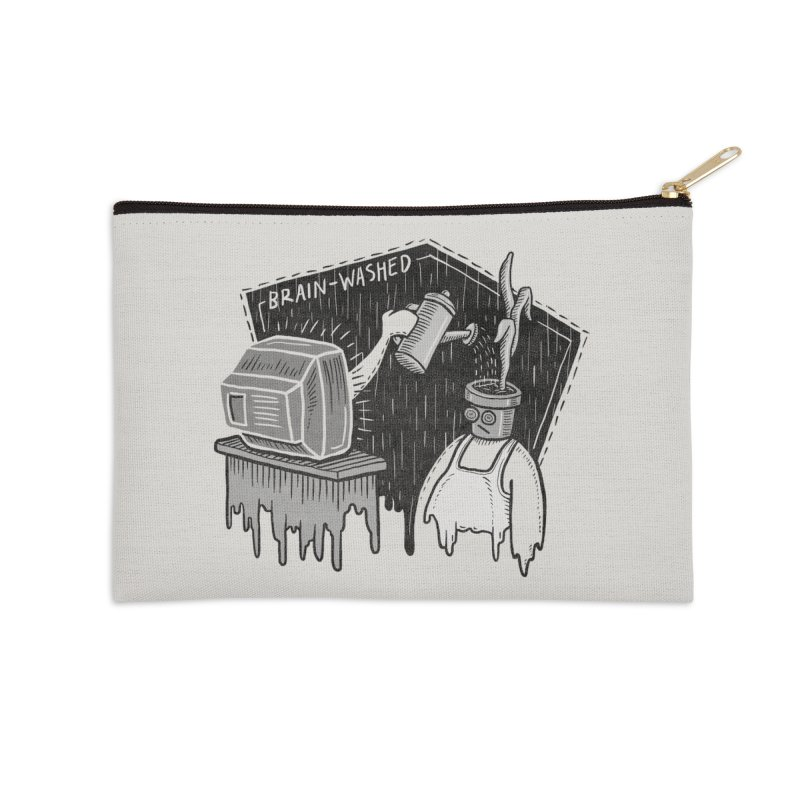 Brain-Washed Accessories Zip Pouch by YiannZ's Artist Shop