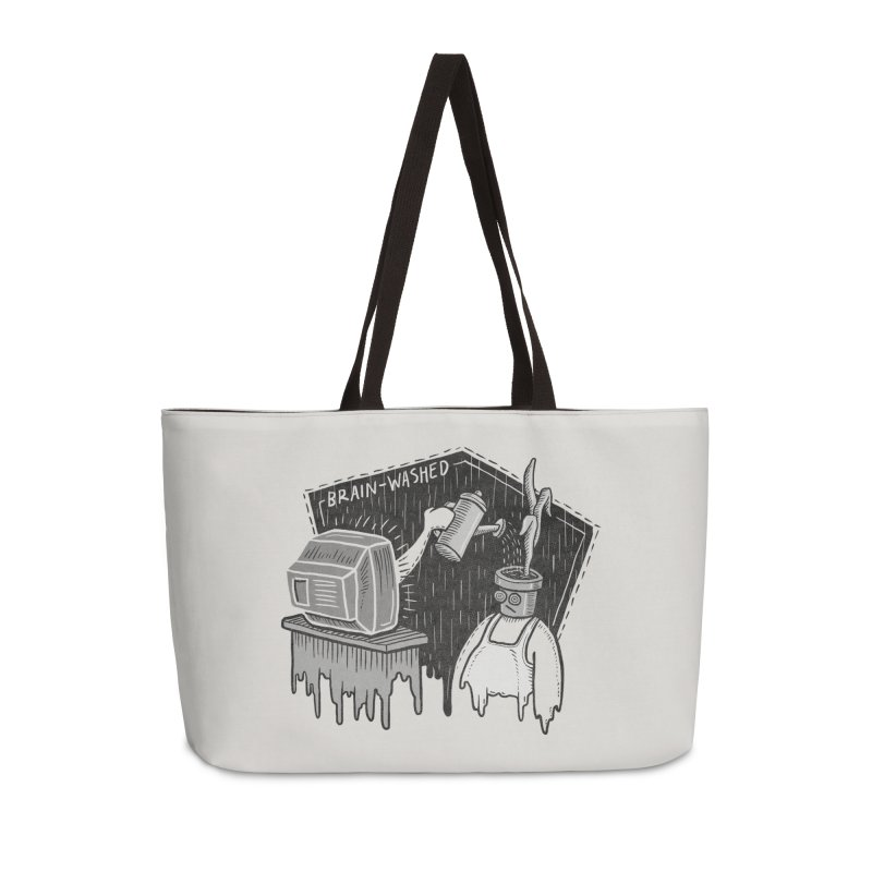 Brain-Washed Accessories Weekender Bag Bag by YiannZ's Artist Shop