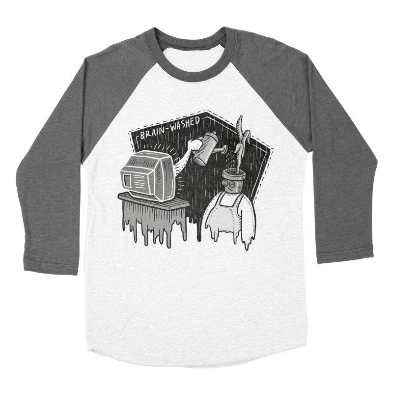 Brain-Washed Women's Longsleeve T-Shirt by YiannZ's Artist Shop