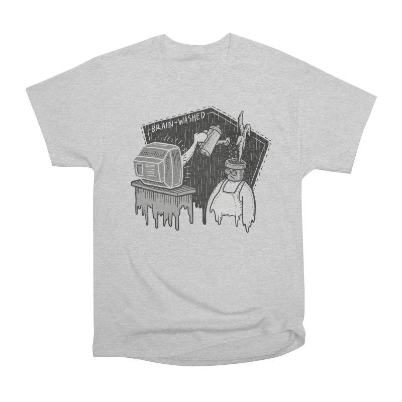 Brain-Washed Men's Heavyweight T-Shirt by YiannZ's Artist Shop