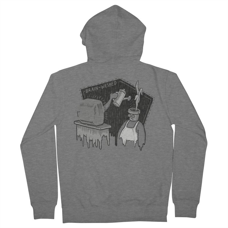 Brain-Washed Men's Zip-Up Hoody by YiannZ's Artist Shop