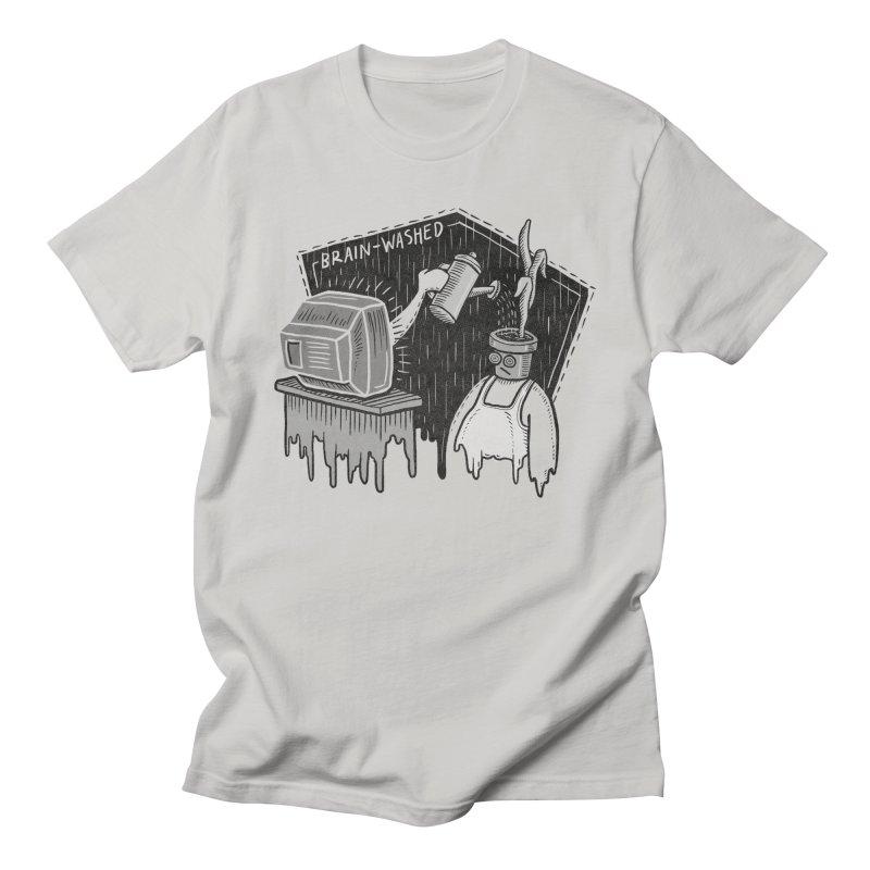 Brain-Washed Men's T-Shirt by YiannZ's Artist Shop