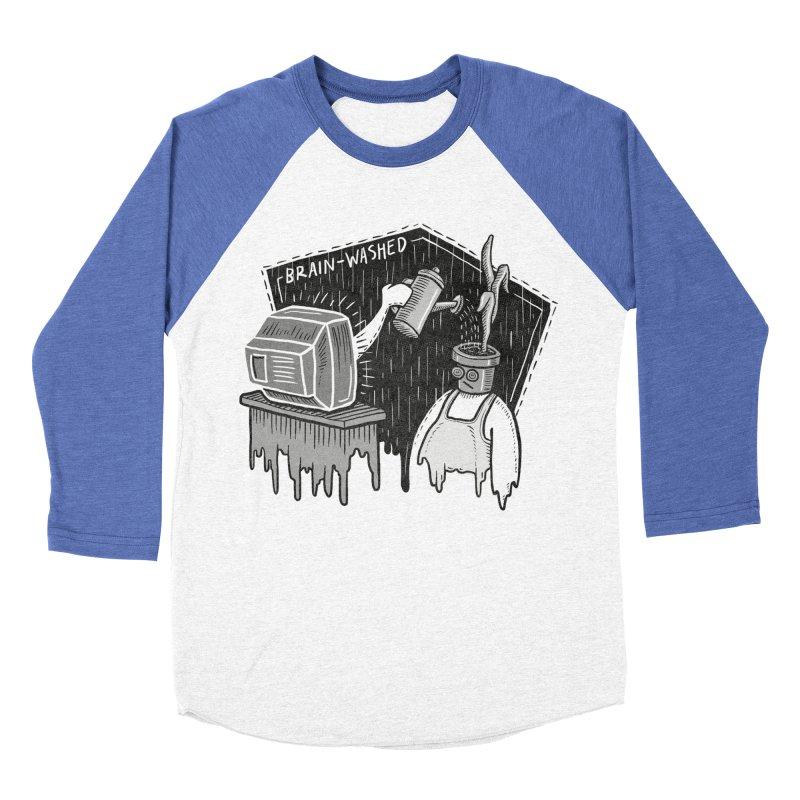 Brain-Washed Women's Baseball Triblend T-Shirt by YiannZ's Artist Shop