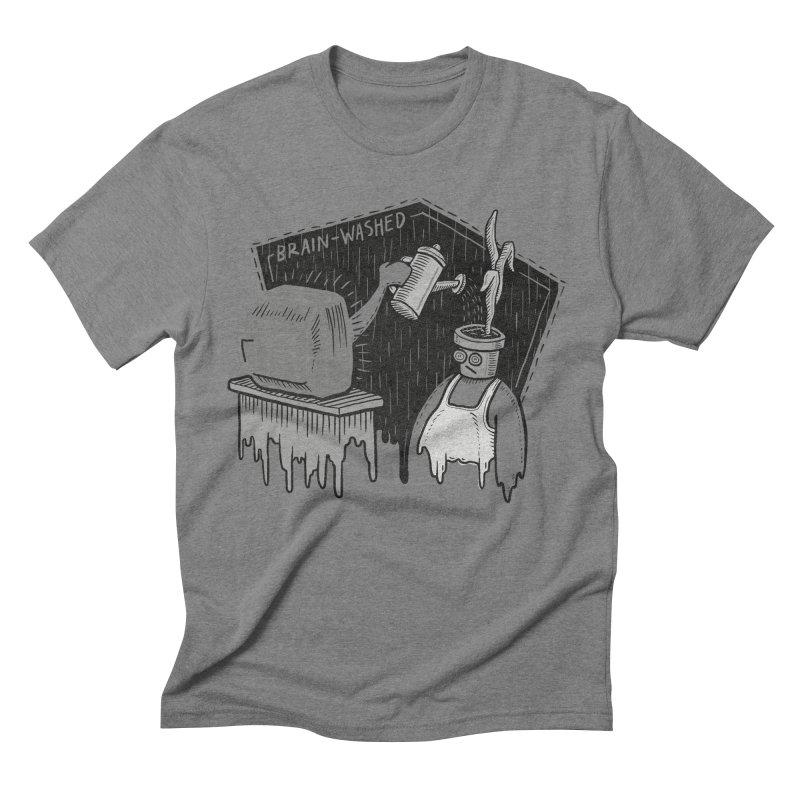 Brain-Washed Men's Triblend T-shirt by YiannZ's Artist Shop