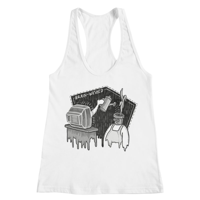 Brain-Washed Women's Tank by YiannZ's Artist Shop