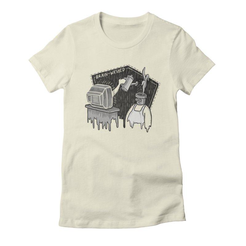 Brain-Washed Women's T-Shirt by YiannZ's Artist Shop