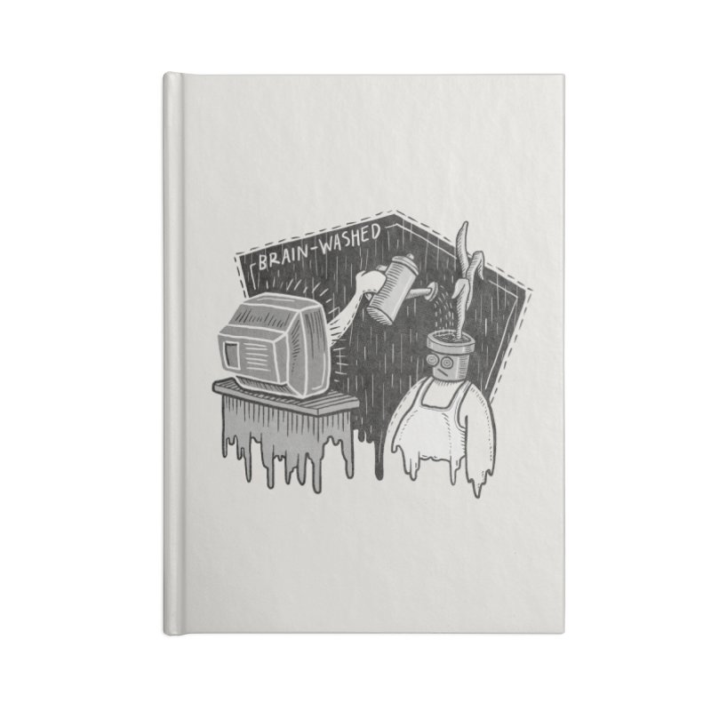 Brain-Washed Accessories Notebook by YiannZ's Artist Shop