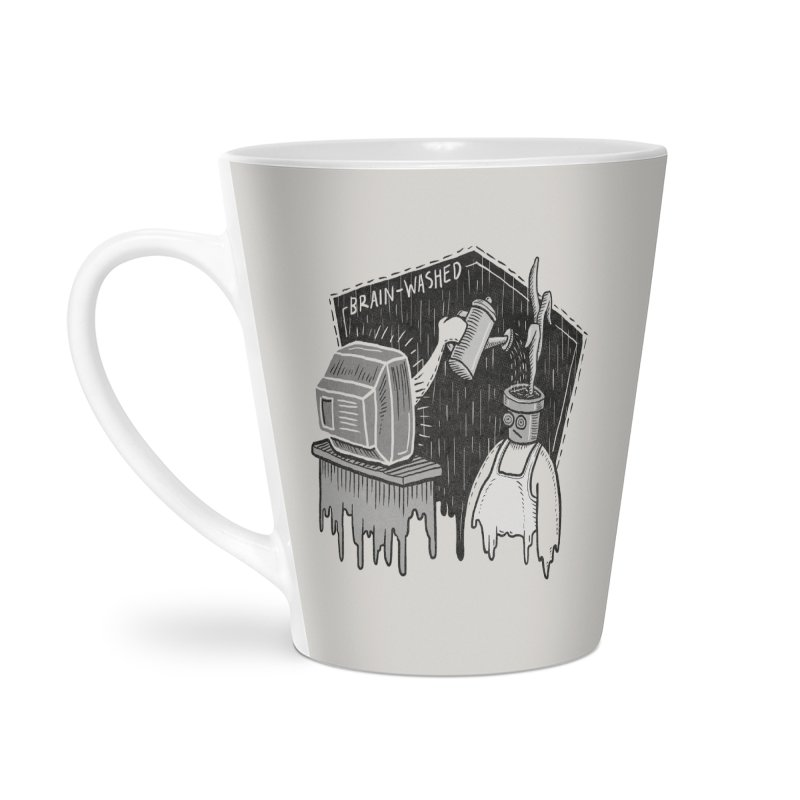 Brain-Washed Accessories Latte Mug by YiannZ's Artist Shop