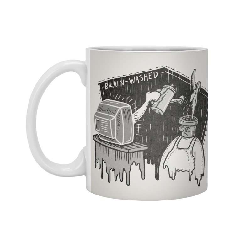 Brain-Washed Accessories Standard Mug by YiannZ's Artist Shop