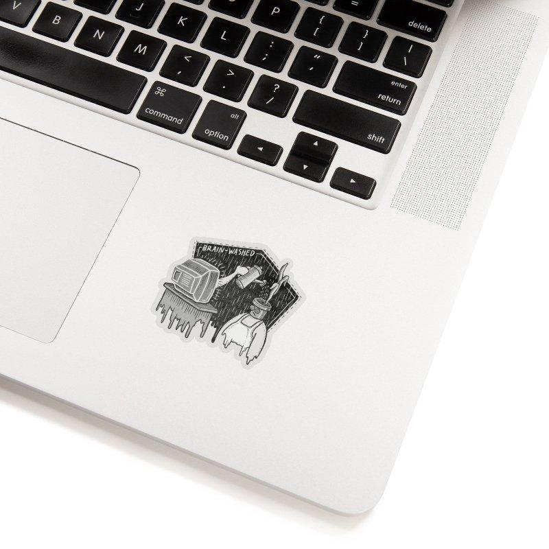 Brain-Washed Accessories Sticker by YiannZ's Artist Shop