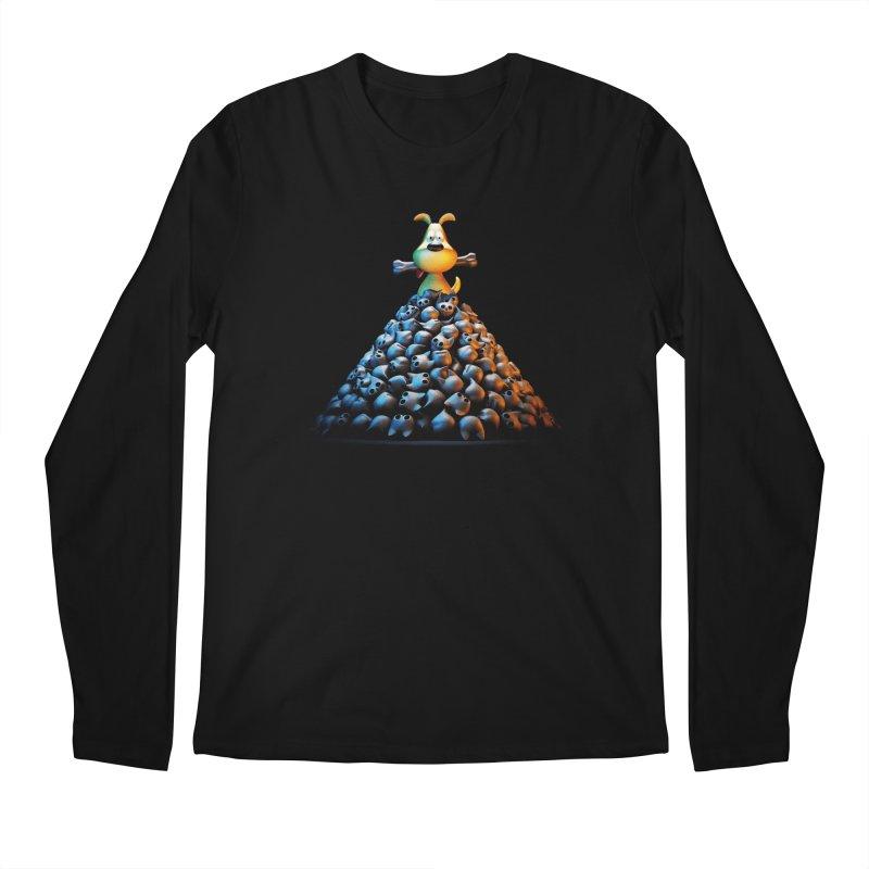 CAT-EATER Men's Longsleeve T-Shirt by YiannZ's Artist Shop
