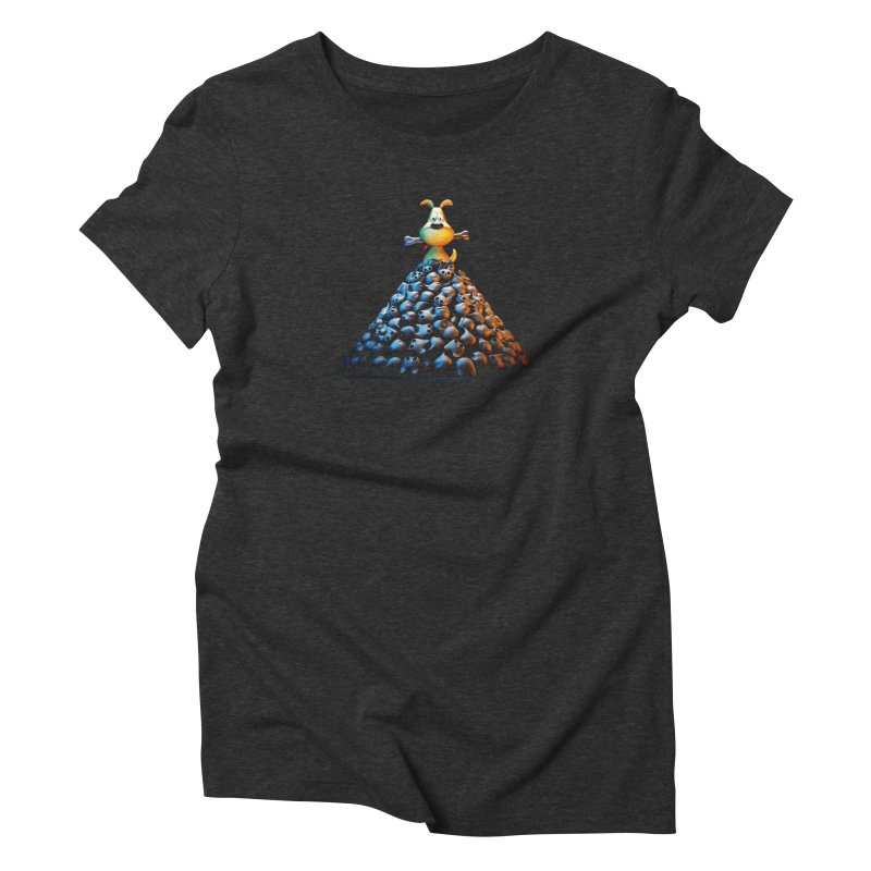 CAT-EATER Women's T-Shirt by YiannZ's Artist Shop