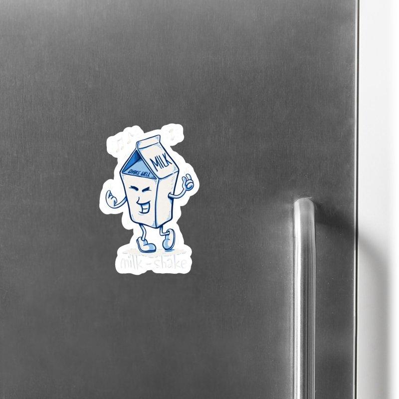 Milk-Shake Accessories Magnet by YiannZ's Artist Shop
