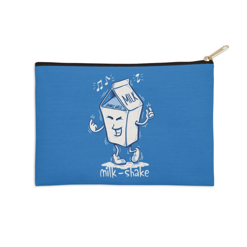 Milk-Shake Accessories Zip Pouch by YiannZ's Artist Shop