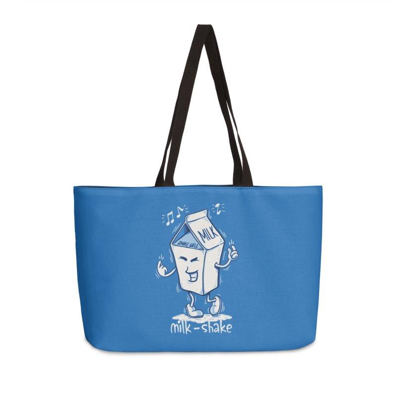 Milk-Shake Accessories Weekender Bag Bag by YiannZ's Artist Shop