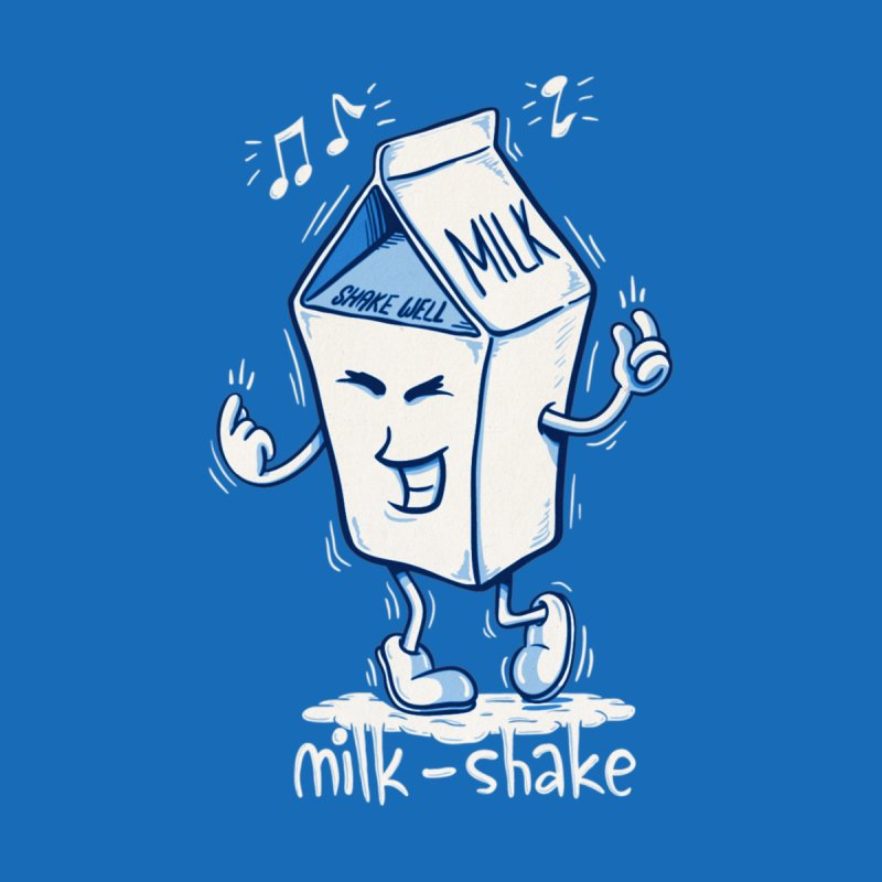 Milk-Shake Men's Longsleeve T-Shirt by YiannZ's Artist Shop