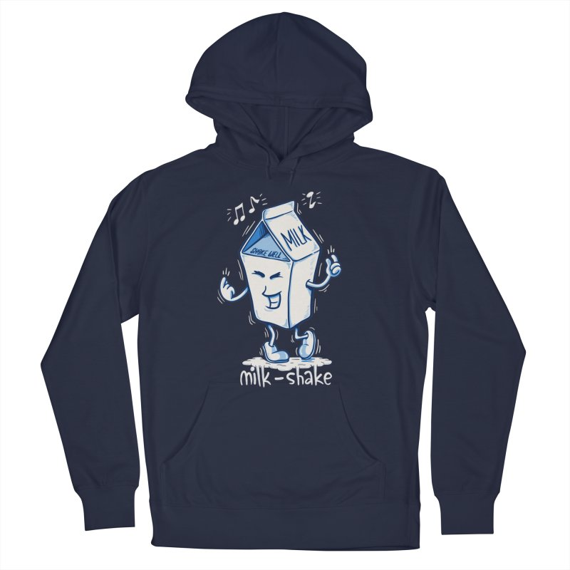 Milk-Shake Men's French Terry Pullover Hoody by YiannZ's Artist Shop