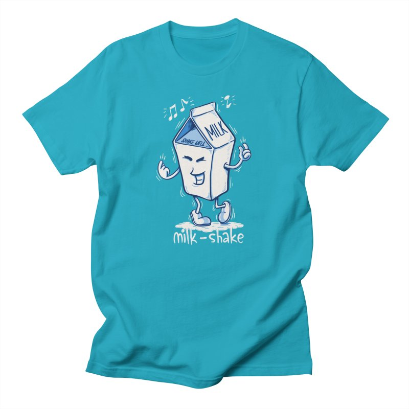 Milk-Shake Men's T-Shirt by YiannZ's Artist Shop