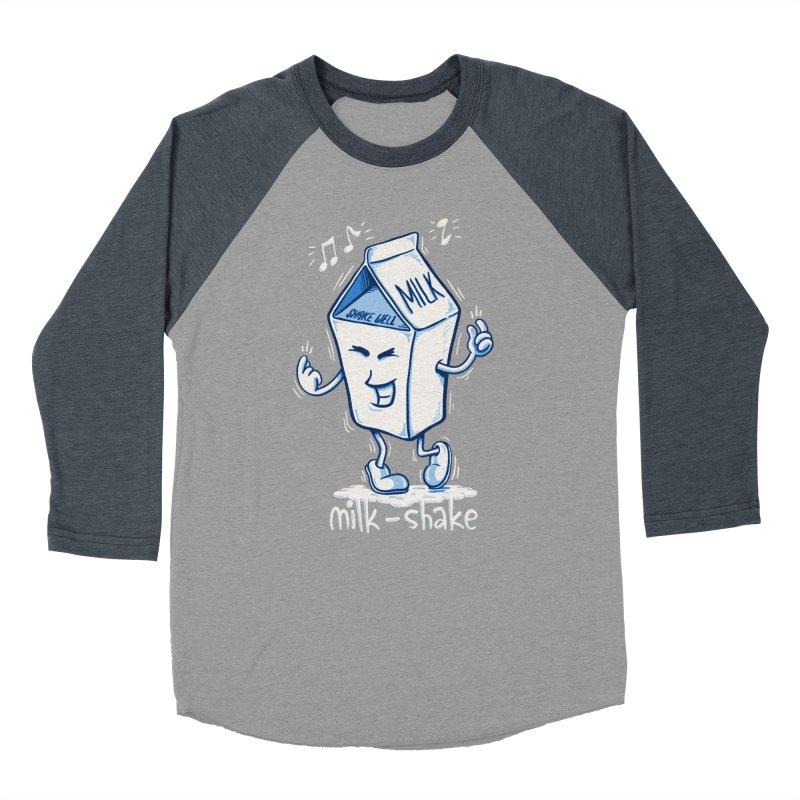 Milk-Shake Women's Baseball Triblend Longsleeve T-Shirt by YiannZ's Artist Shop
