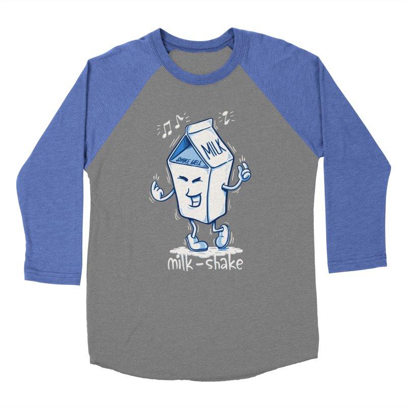 Milk-Shake Men's Baseball Triblend Longsleeve T-Shirt by YiannZ's Artist Shop