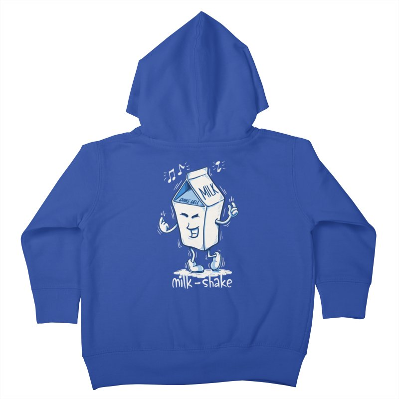Milk-Shake Kids Toddler Zip-Up Hoody by YiannZ's Artist Shop