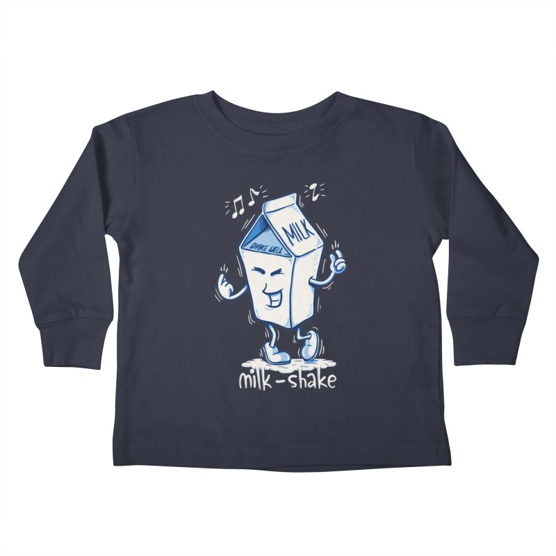 Milk-Shake Kids Toddler Longsleeve T-Shirt by YiannZ's Artist Shop