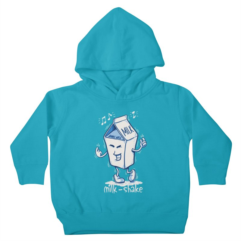 Milk-Shake Kids Toddler Pullover Hoody by YiannZ's Artist Shop