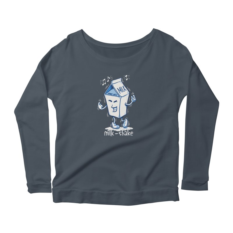 Milk-Shake Women's Longsleeve T-Shirt by YiannZ's Artist Shop