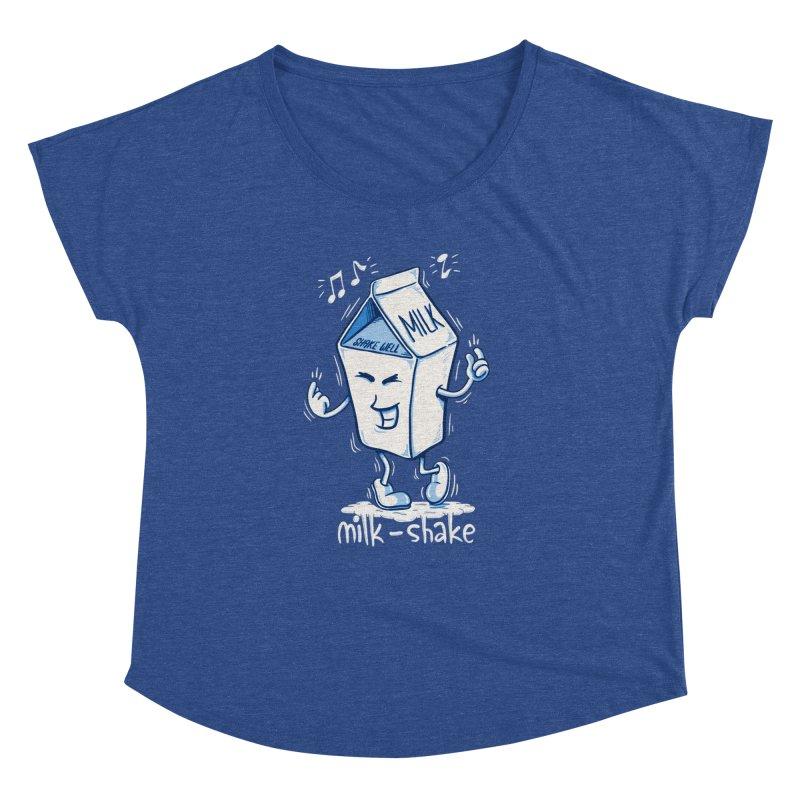 Milk-Shake Women's Dolman Scoop Neck by YiannZ's Artist Shop