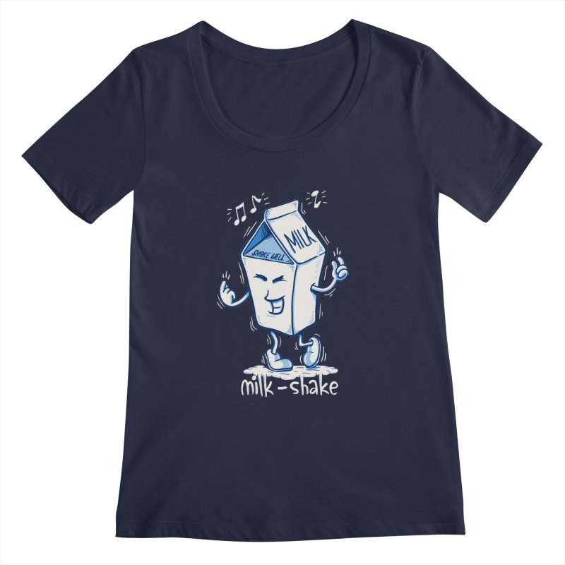 Milk-Shake Women's Scoopneck by YiannZ's Artist Shop