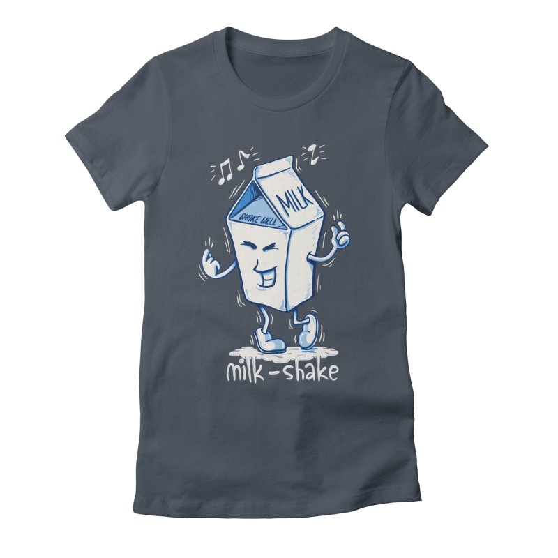 Milk-Shake Women's T-Shirt by YiannZ's Artist Shop
