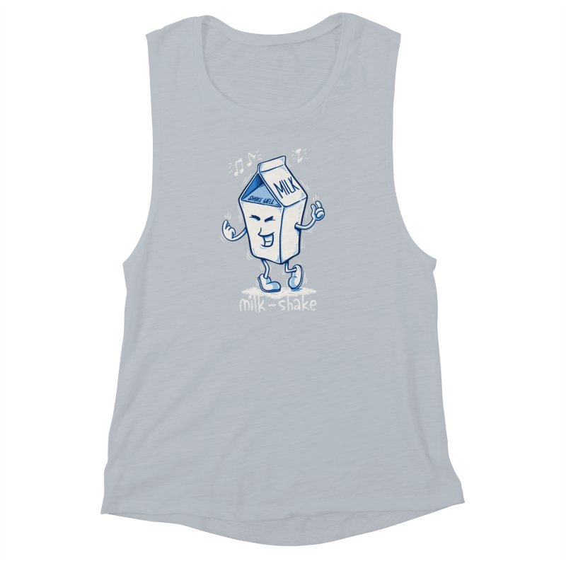 Milk-Shake Women's Muscle Tank by YiannZ's Artist Shop