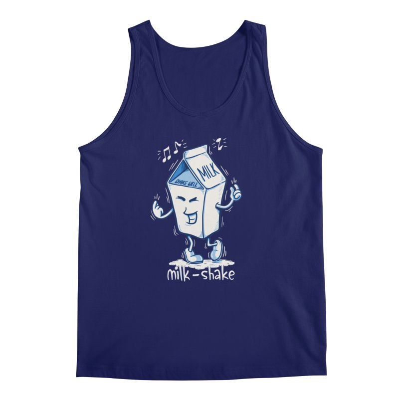 Milk-Shake Men's Regular Tank by YiannZ's Artist Shop
