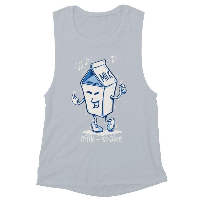 Milk-Shake Women's Muscle Tank by YiannZ's Artist Shop