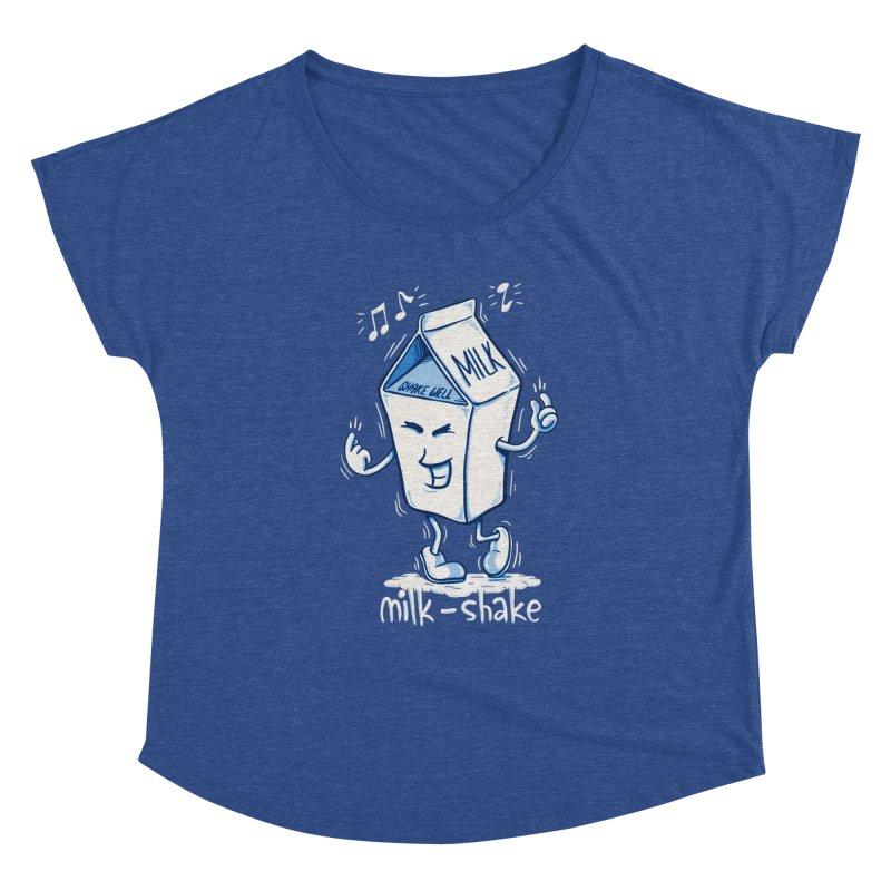 Milk-Shake Women's Scoop Neck by YiannZ's Artist Shop