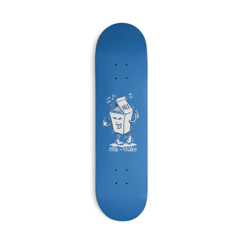 Milk-Shake Accessories Skateboard by YiannZ's Artist Shop