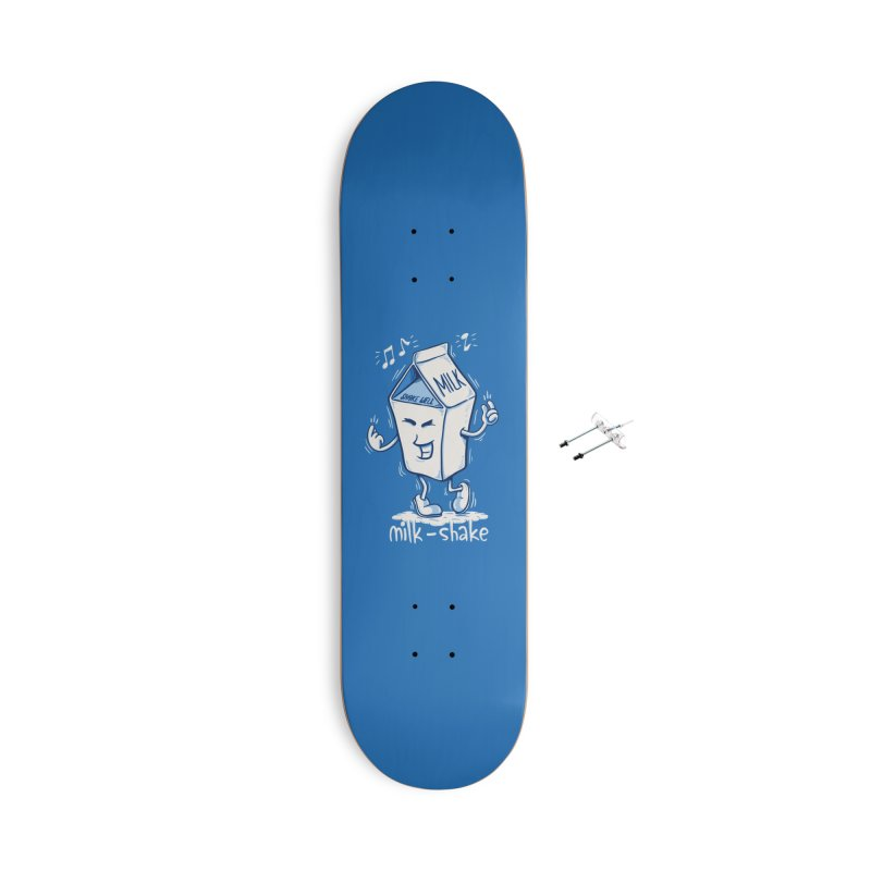 Milk-Shake Accessories With Hanging Hardware Skateboard by YiannZ's Artist Shop