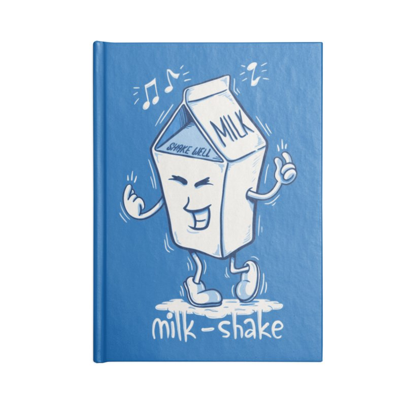 Milk-Shake Accessories Blank Journal Notebook by YiannZ's Artist Shop