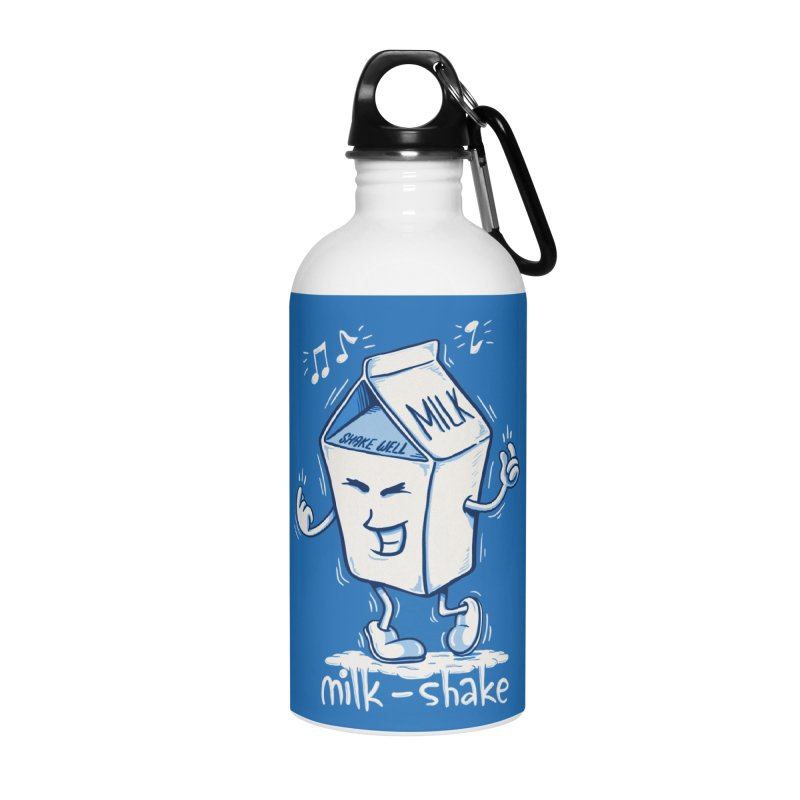 Milk-Shake Accessories Water Bottle by YiannZ's Artist Shop