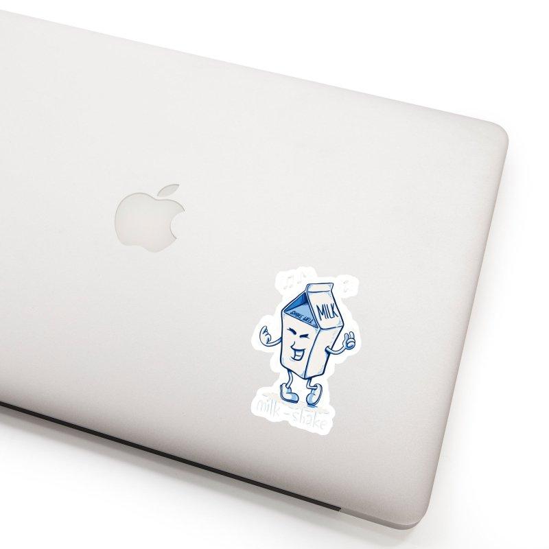 Milk-Shake Accessories Sticker by YiannZ's Artist Shop