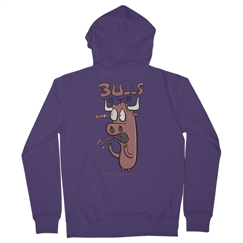 BULLS-EYE Women's Zip-Up Hoody by YiannZ's Artist Shop