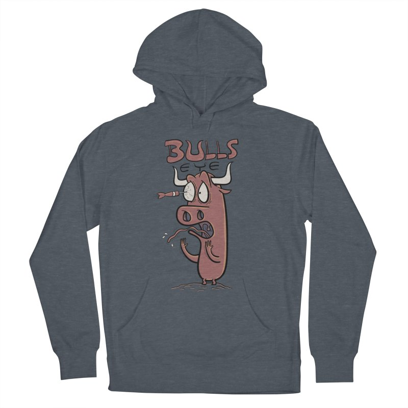 BULLS-EYE Women's French Terry Pullover Hoody by YiannZ's Artist Shop