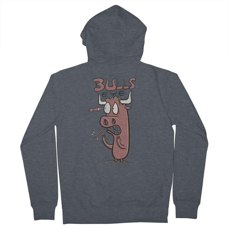BULLS-EYE Men's Zip-Up Hoody by YiannZ's Artist Shop