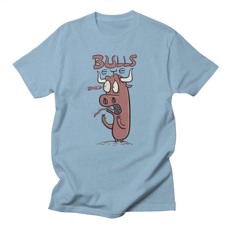 BULLS-EYE Men's T-Shirt by YiannZ's Artist Shop